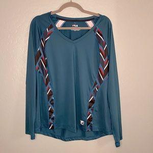 Fila Long Sleeve Athletic Shirt